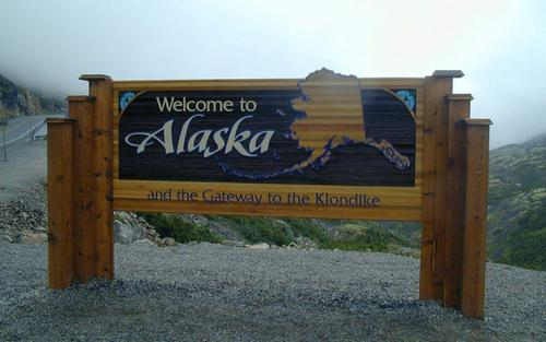 Welcome to Alaska, USA