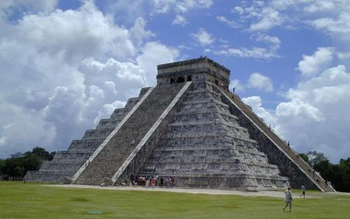 Maja piramis, Chichen Itza, Mexikó